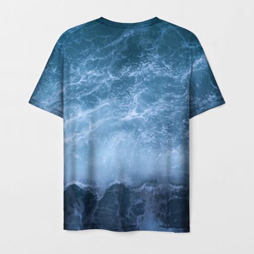 Мужская футболка 3D океан Фото 01