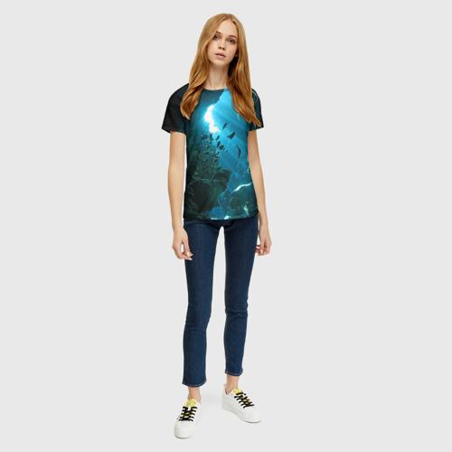 Женская футболка 3D Коралловые рыбки Фото 01