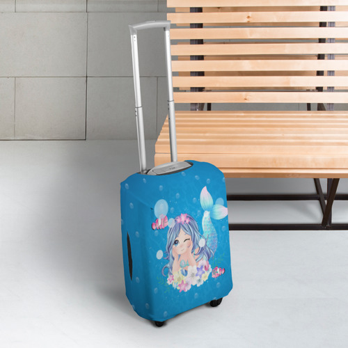 Чехол для чемодана 3D Русалочка Фото 01