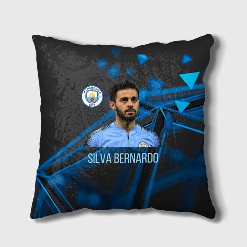 Подушка 3D Silva Bernardo Манчестер Сити Фото 01
