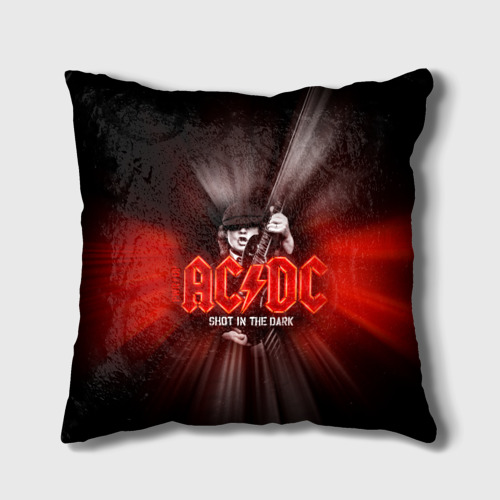 Подушка 3D AC/DC: Angus Young Фото 01