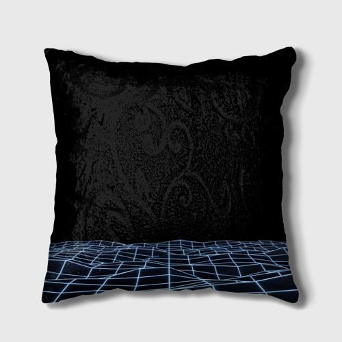 Подушка 3D Цифровой восход Фото 01