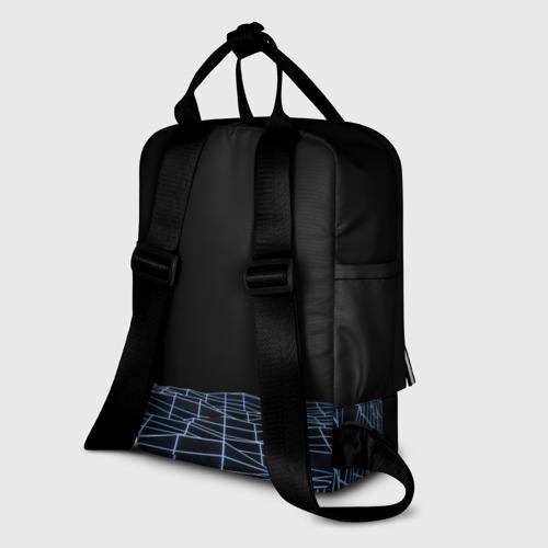 Женский рюкзак 3D Цифровой восход Фото 01