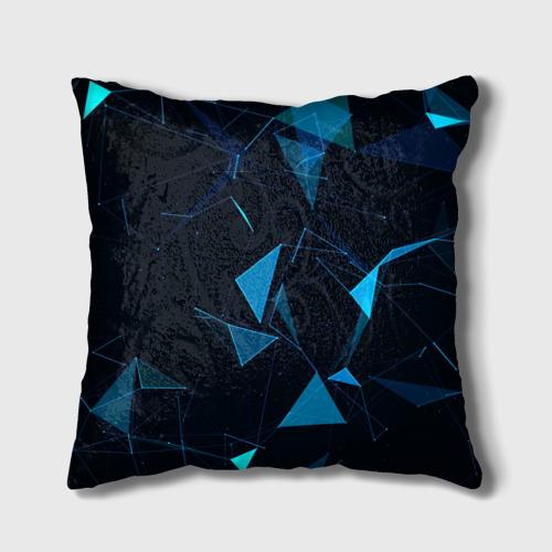 Подушка 3D Цифровой треугольник Фото 01