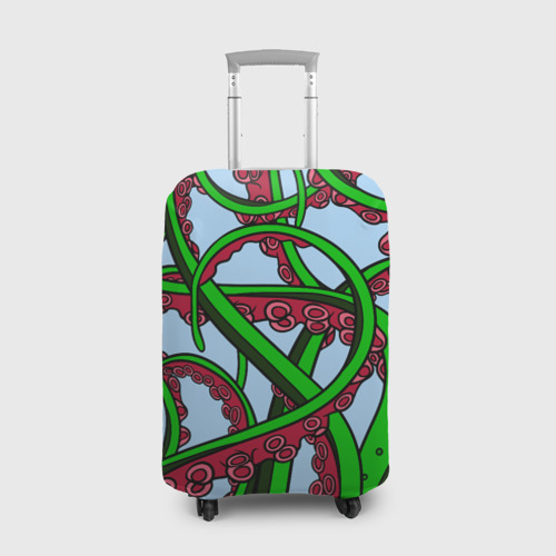 Чехол для чемодана 3D Кракен / Kraken Фото 01