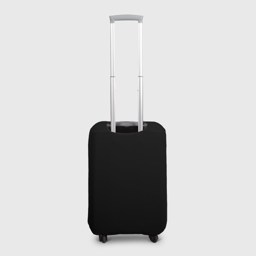Чехол для чемодана 3D Magic Music Record | White on Black Фото 01