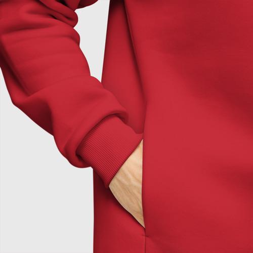 Мужское худи Oversize хлопок Рука - лицо Пауло Дибала Фото 01