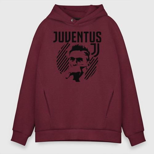 Мужское худи Oversize хлопок Juventus Paulo Dybala Фото 01