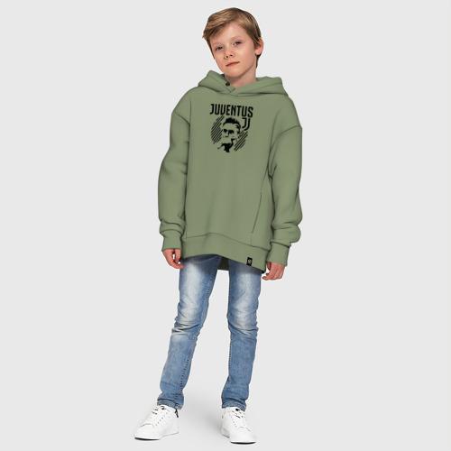 Детское худи Oversize хлопок Juventus Paulo Dybala Фото 01