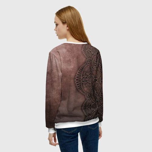 Женский свитшот 3D Lace, Pattern Фото 01