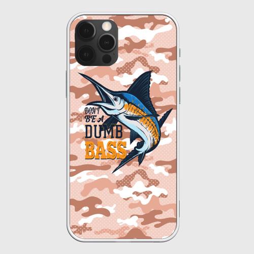 Чехол для iPhone 12 Pro Туристическая рыбалка Фото 01