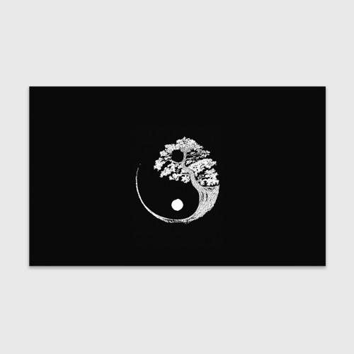 Бумага для упаковки 3D Yin and Yang. Bonsai Tree Фото 01