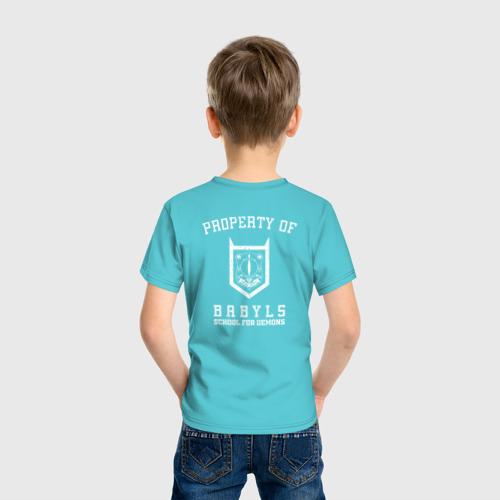 Детская футболка хлопок Babyls Demon School Фото 01