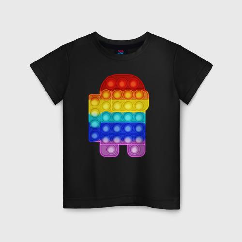 Детская футболка хлопок Pop It Among Us Фото 01
