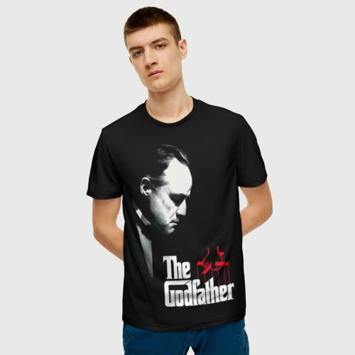 Мужская футболка 3D КРЕСТНЫЙ ОТЕЦ Фото 01