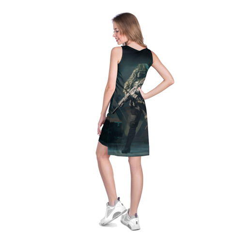 Платье-майка 3D BATTLEFIELD 2042   Батлфилд Фото 01