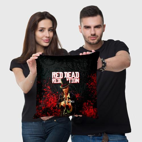 Подушка 3D Red Dead Redemption Bandit Фото 01