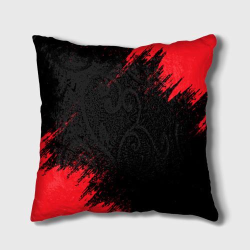 Подушка 3D BERSERK red краска Фото 01