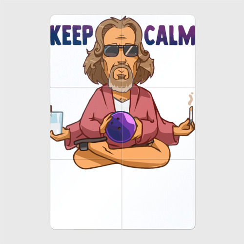 Магнитный плакат 2Х3 Keep Calm Фото 01