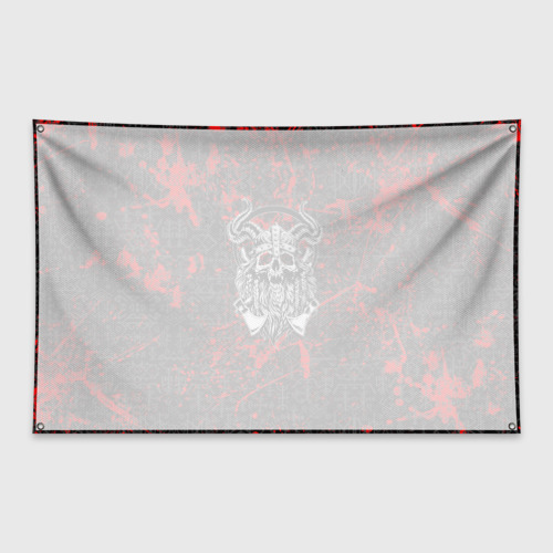 Флаг-баннер Скандинавские символы Фото 01