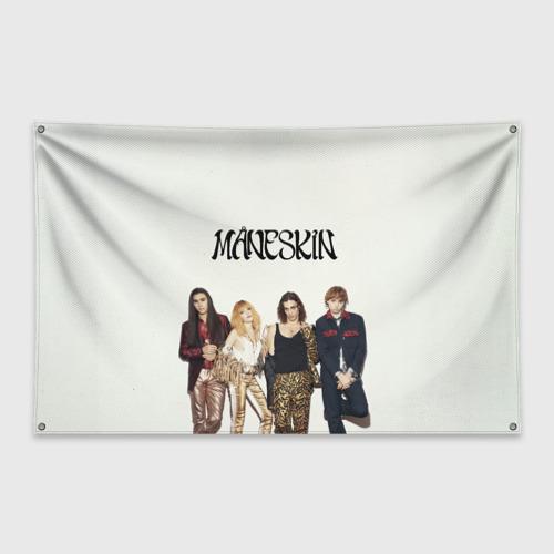 Флаг-баннер Maneskin Фото 01