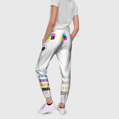 Женские брюки 3D CMYK Фото 01