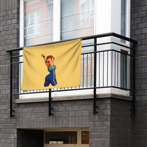 Флаг-баннер Милаха Чун Ли Фото 01