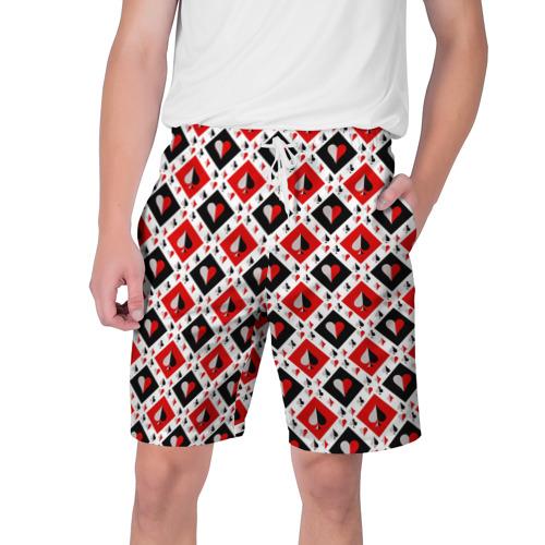Мужские шорты 3D Карточный Катала Фото 01