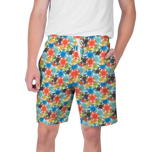 Мужские шорты 3D Фишки Фото 01