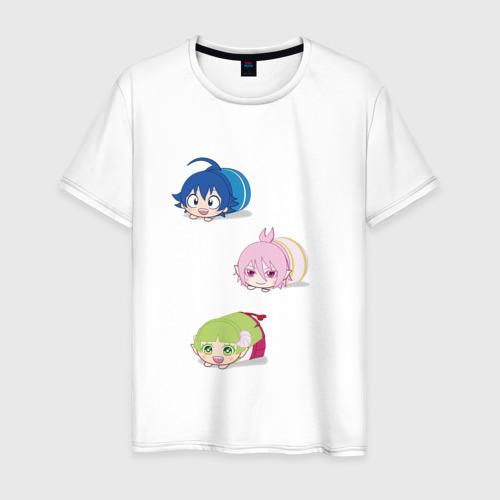 Мужская футболка хлопок Милые хомячки демоны Фото 01