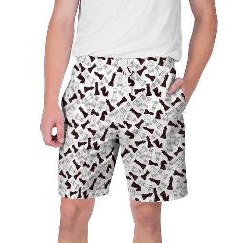 Мужские шорты 3D Шахматные Фигуры Фото 01