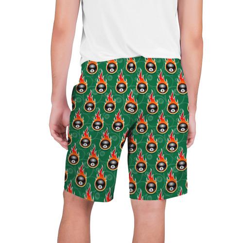 Мужские шорты 3D бильярд-восьмёрка Фото 01