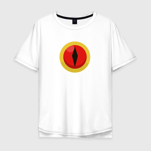 Мужская футболка хлопок Oversize Eye of Demon Фото 01