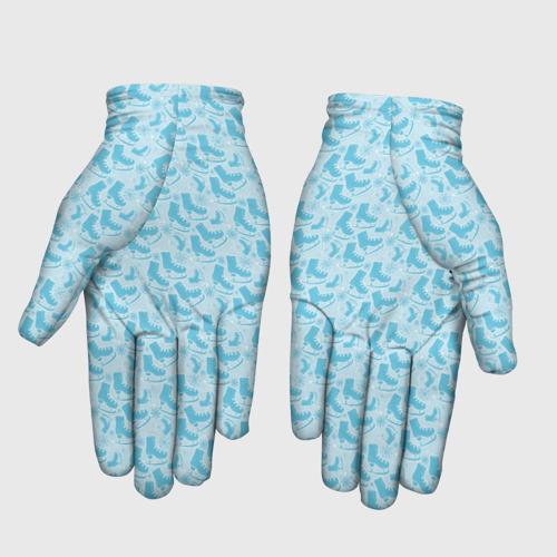 Перчатки 3D Фигурное Катание Фото 01
