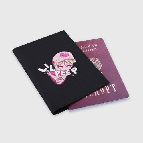 Обложка для паспорта матовая кожа Лил Пип Фото 01