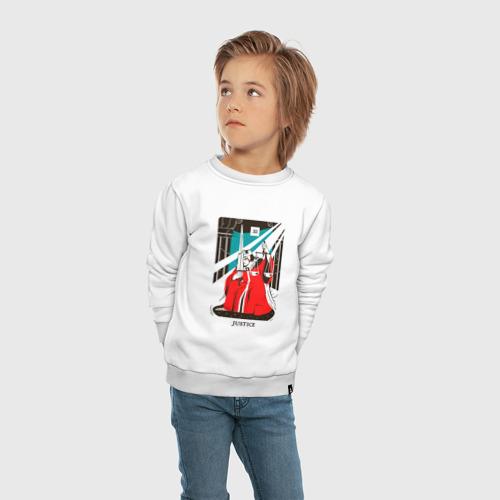 Детский свитшот хлопок Таро - аркан справедливость  Фото 01