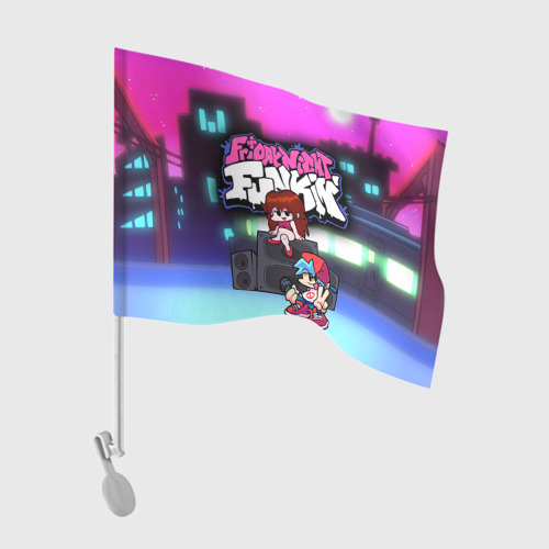 Флаг для автомобиля Friday Night Funkin Фото 01