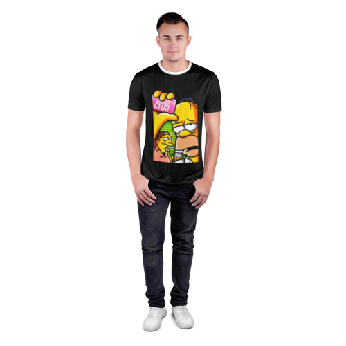 Мужская футболка 3D спортивная Drunk club Фото 01