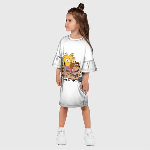 Детское платье 3D Будешь бревном Фото 01