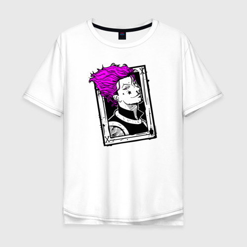 Мужская футболка хлопок Oversize ХИСОКА (КАРТА) Фото 01